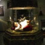Gesù Bambino fatta realizzare dalla Madre con le stimmati, dialogava con lei durante le estasi