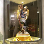 S.Michele Arcangelo Si trovava nel Santuario nel coretto dove pregavano le suore ai tempi della Madre