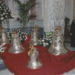 Benedizione delle cinque campane